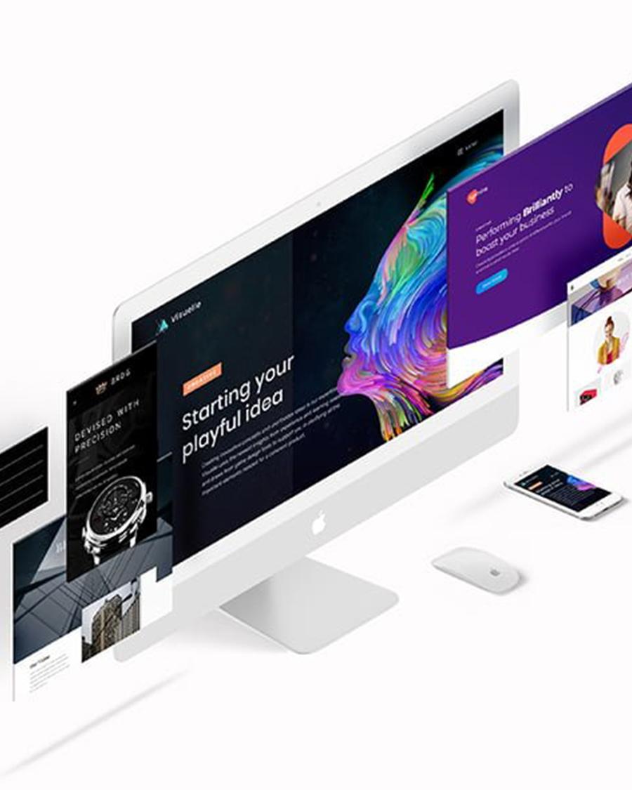 Design de interface do usuário / UI e site / Design de aplicativo